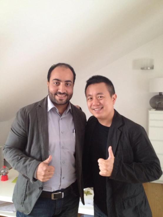 Partnership Agreement with OSVEHICLE CEO Tin Hang Lui - Turin - Italy