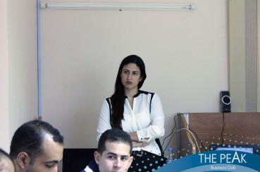 Zayna Hamarneh During her Workshop THE POWER OF THE CLCK
