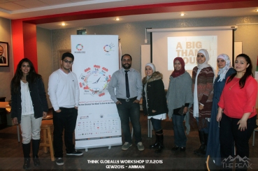 Think Globally Workshop - Amman - Jordan , GEW2015